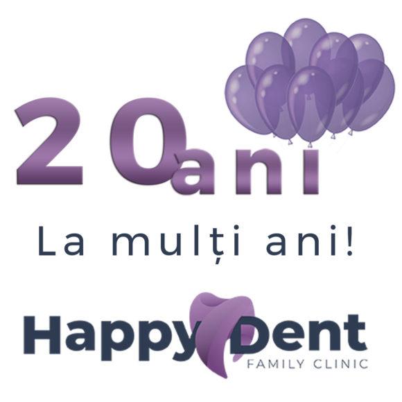 20 de ani de HappyDent